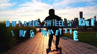 Learn how to Ride a Hoverboard like a PRO! Full tutorial ride over obstacles bumps NYC