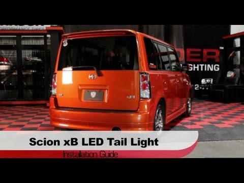 Spyder Auto Installation: 2003-07 Scion xB LED Tail Lights