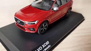 Miniatura Volvo XC60 2018 Fusion Red Metallic Kyosho 1:43