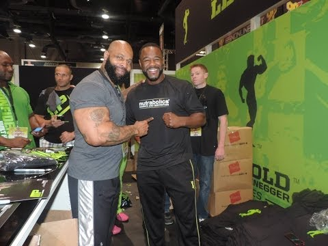 UFC Fighter Rashad Evans, Get's a Special Message from CT Fletcher
