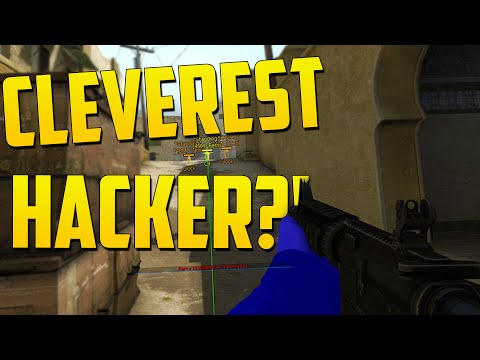 THE MOST CLEVEREST HACKER? - CS GO Overwatch Funny Moments