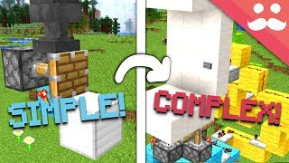Making SIMPLE THINGS COMPLEX in Minecraft 1.13!