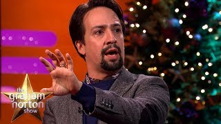 Lin-Manuel Miranda Stuns Emily Blunt By Rapping 'My Shot' from Hamilton! | The Graham Norton Show