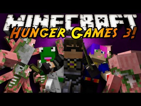 Minecraft Mini-Game : HUNGER GAMES 3! – 2MineCraft.com