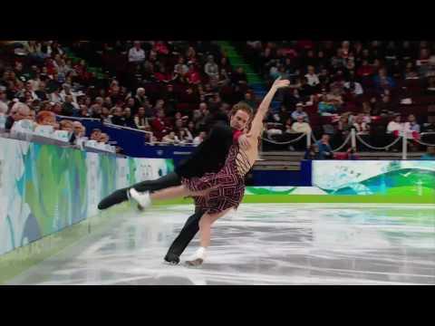 Ice Dance Figure Skatin - Compulsory Dance - Vancouver 2010 Winter Olympics