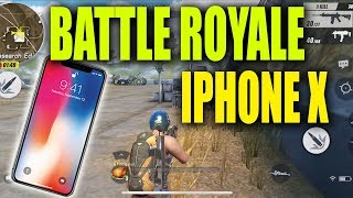 IPHONE X NEW BATTLE ROYALE GAME - Best iPhone X Games And Apps - Rules Of Survival
