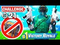 WINNING with FLOOR LOOT ONLY Challenge! (21 Elims)