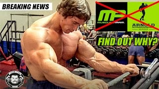 Arnold Schwarzenegger Terminated His Partnership With MusclePharm