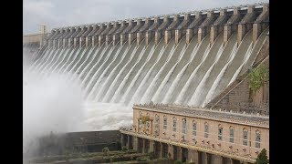 Nagarjuna Sagar Dam All 26 Gates Opened - Hyderabad