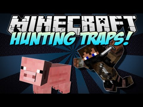 Minecraft | HUNTING TRAPS! (Trap Animals and Your Friends!) | Mod Showcase [1.5.2]
