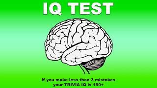 IQ test - Test your trivia IQ (2018)