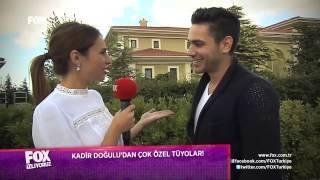 Fatih Harbiye oyuncularıyla röportaj KADİR DOĞULU