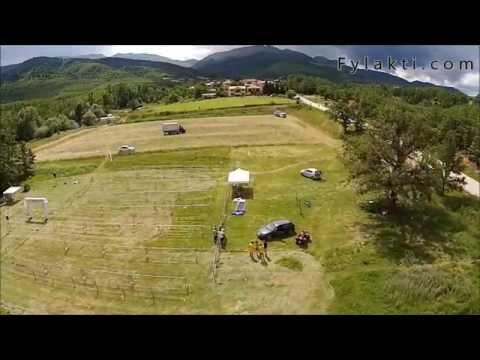 Δοκιμές για ζωντανή μετάδοση Xterra Greece 14 - Λίμνη Πλαστήρα από ψηλά - Fylakti.com