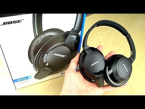 Bose AE2w Bluetooth Headphones Unboxing