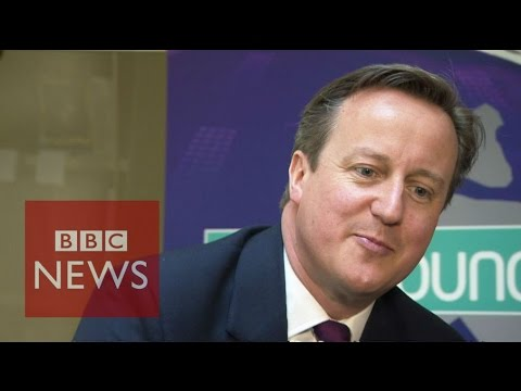 Which kids question left the David Cameron stumped? BBC News