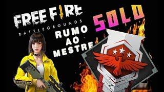 🔴 FREE FIRE RUMO AO MESTRE SOLO VS DUO