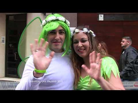 Cabalgata Carnaval Las Palmas de Gran Canaria 17 02 2018 HD  1080