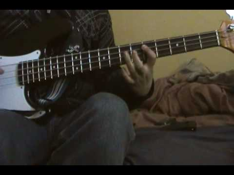 The Green Manalishi Bass Cover
