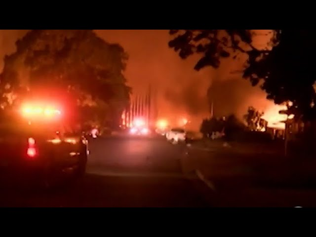 Carr wildfire devastates northern California