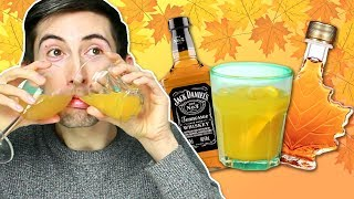 Irish People Try Thanksgiving Cocktails