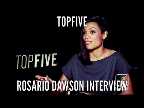 TOP FIVE: Rosario Dawson Full Interview