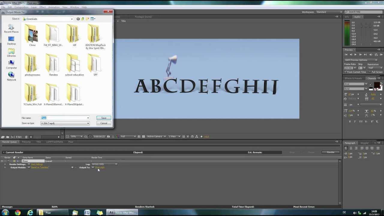 TUTORIAL PIXAR Intro HD YouTube