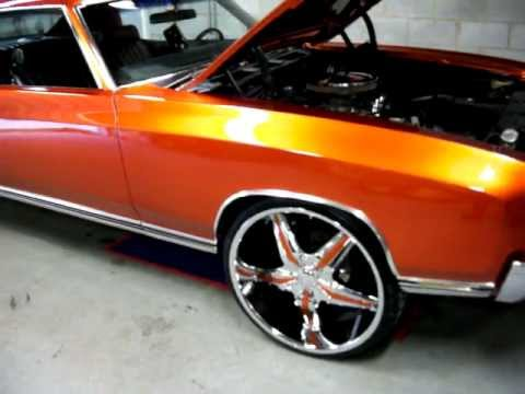 For Sale 1971 Monte Carlo With New Custom Kandy Paint