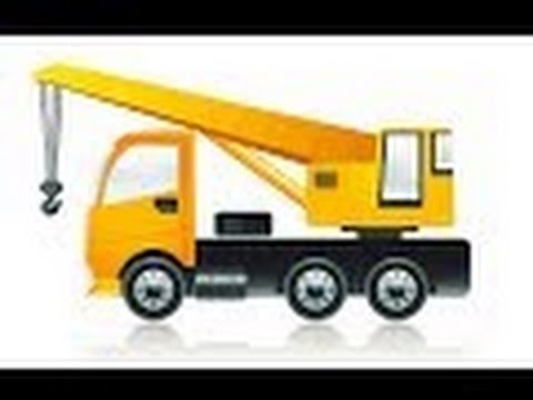 CARS Large crane Toy cars of Play Doh Overview Equipment for children cartoon