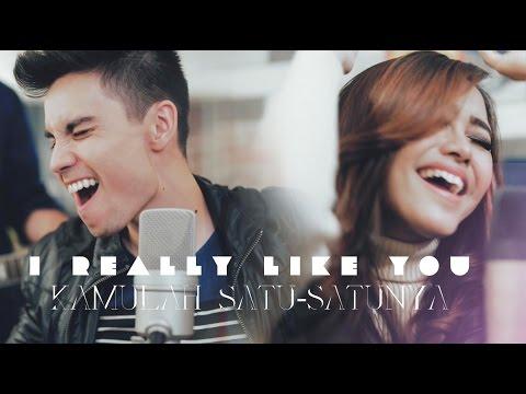 I Really Like You/Kamulah Satu-Satunya MASHUP- Sam Tsui, Eka Gustiwana, Nadya Rafika