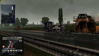 Euro Truck With Mods Special Delivery
