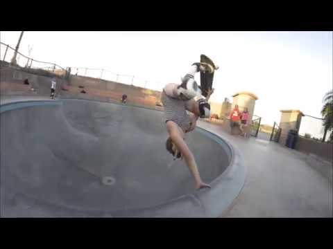Jordyn Barrat Skating Every Type of Transition!