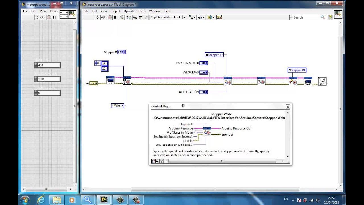 Arduino y LabView NI Paletos de la Electrnica