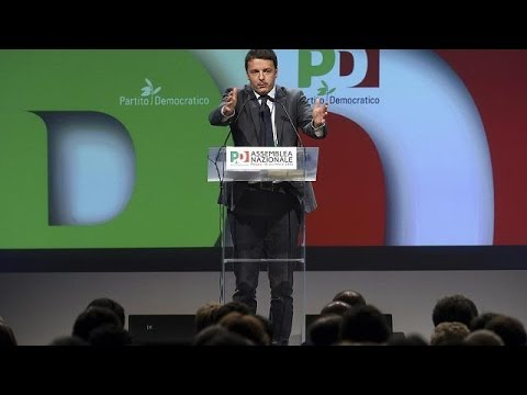 Matteo Renzi poised to be asked to form Italy's next government.