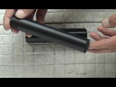 AIR GUN SUPPRESSOR 22lr HMR RIMFIRE RIFLE SILENCER DESIGNS SAK Pt 2
