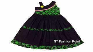 Latest Creative and Beautiful Baby Dress Cutting & Stitching | NT Fashion Baby Girls Frock