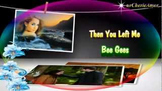 Watch Bee Gees Then You Left Me video