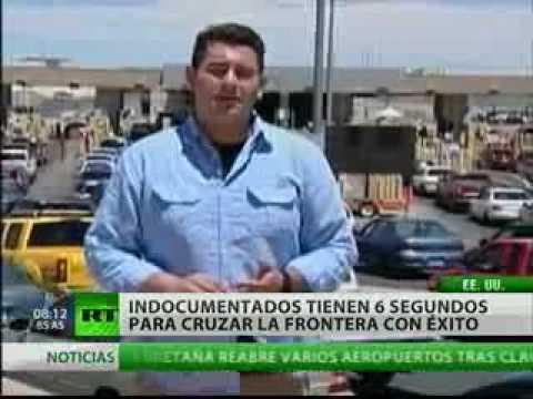 Indocumentados que deseen cruzar la frontera, tienen seis segundos