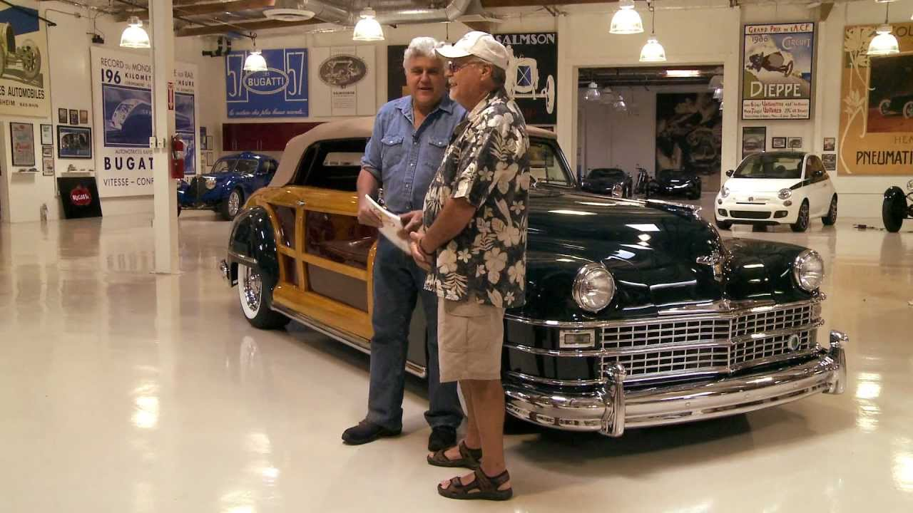 Town And Country Chrysler >> 1948 Chrysler Town & Country Convertible - Jay Leno's Garage - YouTube