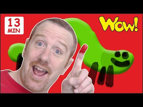Finger Family Animals from Steve and Maggie | Free Speaking Wow English TV | ESL Stories for Kids