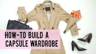 How To Create a Capsule Wardrobe Collection | ANN LE