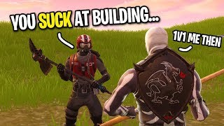 7 YEAR OLD SAYS HE CAN BEAT ME IN A BUILD BATTLE... (Playground 1v1 Fortnite)
