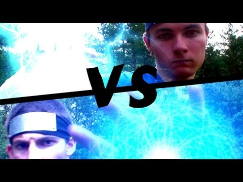 Chidori vs Rasengan REAL LIFE - Final Clash