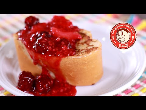 PAN FRANCES RELLENO DE QUESO | STUFFED FRENCH TOAST | EL GUZII