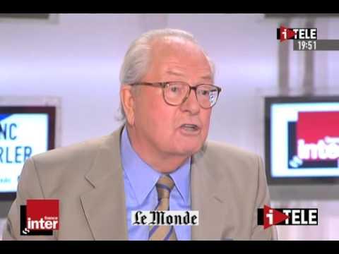 Le franc-parler avec Jean-Marie Le Pen le 18/09/2006