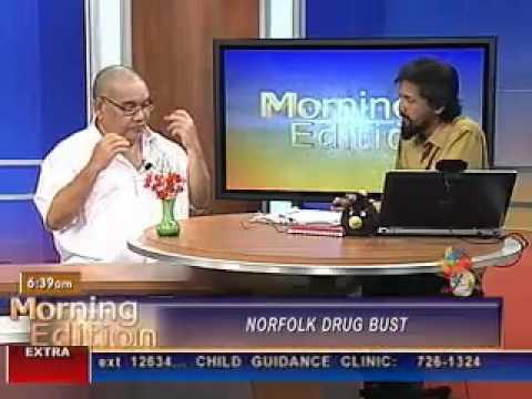 Daurius Figueira - The Drug Trade in Trinidad & Tobago and The Caribbean.