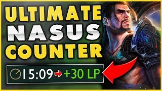 HOW TO 100% ALWAYS WIN AGAINST NASUS AT 15 MINUTES (UNREAL COUNTER) - League of Legends