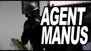 Black Ops Soldier has Bad Gas = Agent Manus