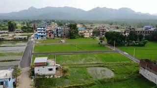 Drone view of dudhe bazar