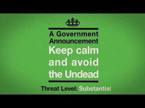 Undead Survival 1/3: Keep Calm and Avoid the Undead - In The Flesh - BBC Three