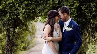 Groom Gives Emotional Vows to Bride // Elegant Outdoor Vineyard Wedding // Jeri & Dean